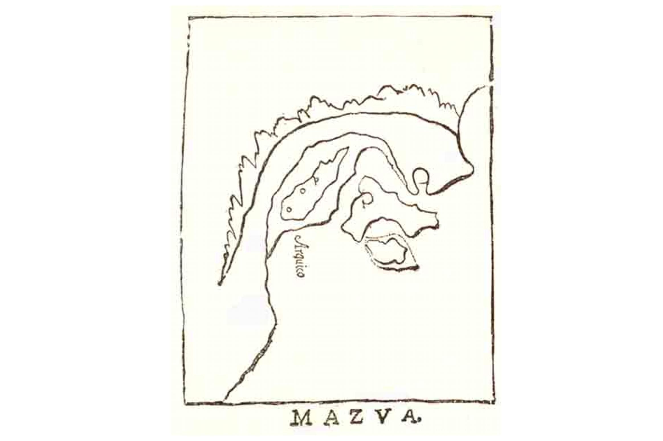 ALCUNE  NOTE  SULL'ANTICA CITTA ' DI MAZUA  (MASSAWA, MASSAUA)