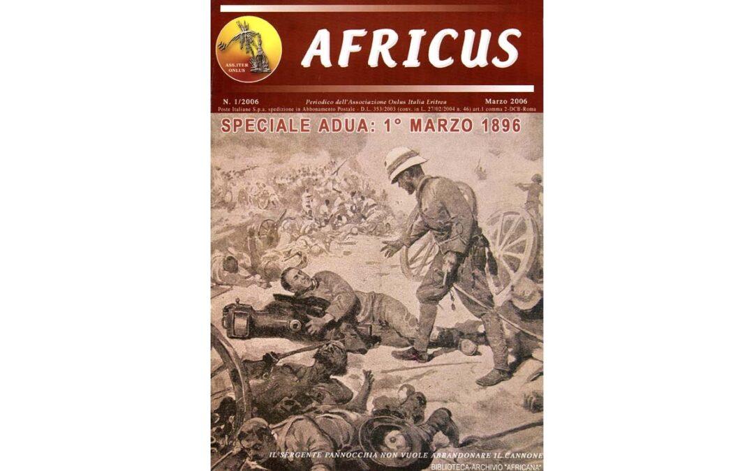Speciale Adua, 1° marzo 1896, Africus, marzo 2006