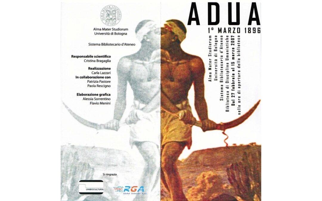 Bologna ricorda Adua