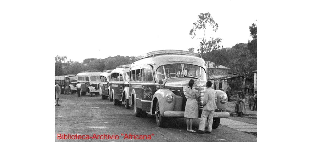 L'AUTOMOBILISMO IN AFRICA ORIENTALE