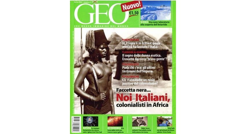 """""""Finalmente usciamo dalla città… stiamo penetrando nell'Etiopia più profonda"""". Geo, marzo 2006"""