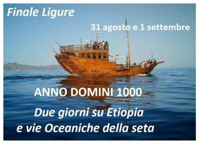 Anno Domini 1000 – Due giorni su Etiopia e vie Oceaniche della seta