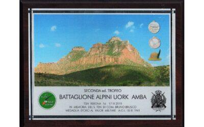 "2° Trofeo ""Battaglione Alpini Uork Amba"""