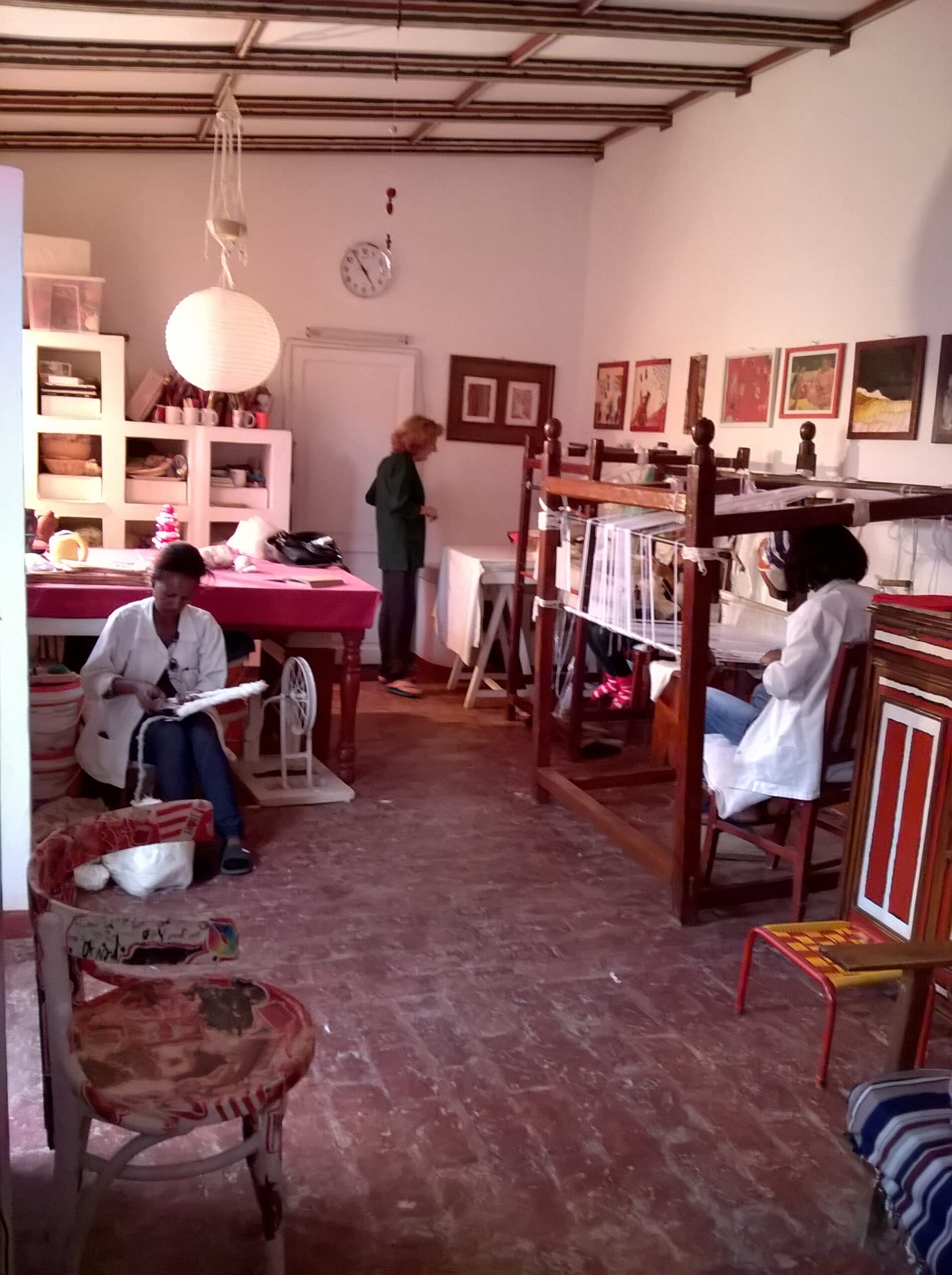 Alkemya: artigianato tessile in Asmara