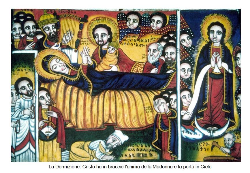 Le Arche, gli Abissini, la Madonna, Alberto e Nicky.