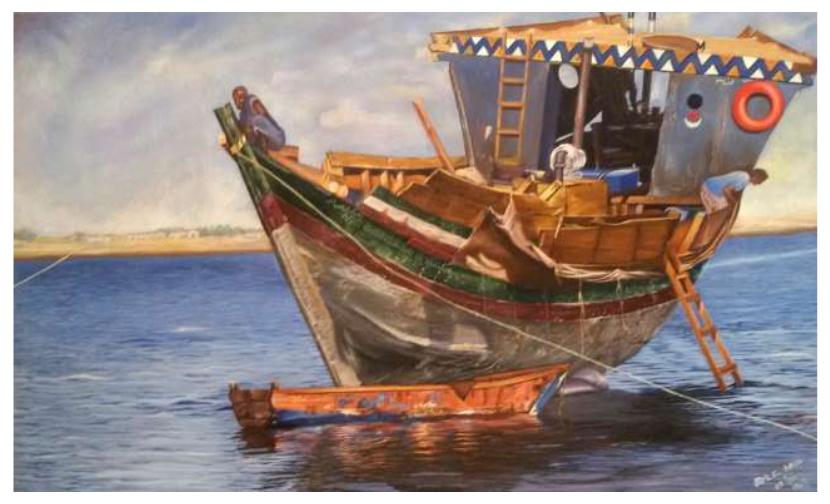 L'arte contemporanea in Eritrea è figurativa