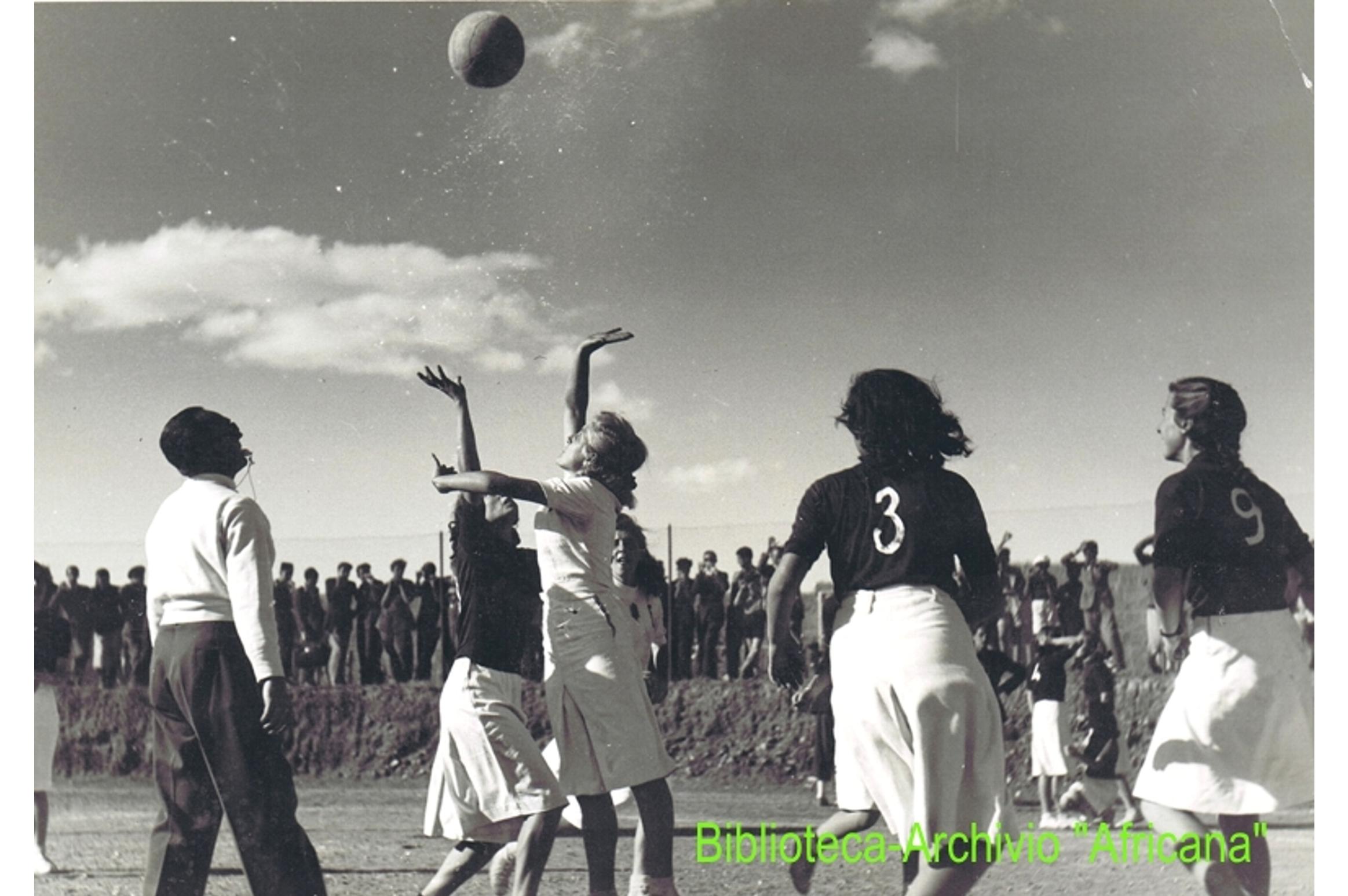 L'atletica  tra  gli  italiani  in  Eritrea