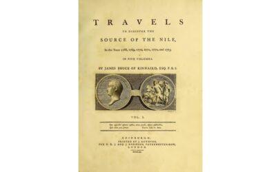 James Bruce e la scoperta delle sorgenti del Nilo Azzurro
