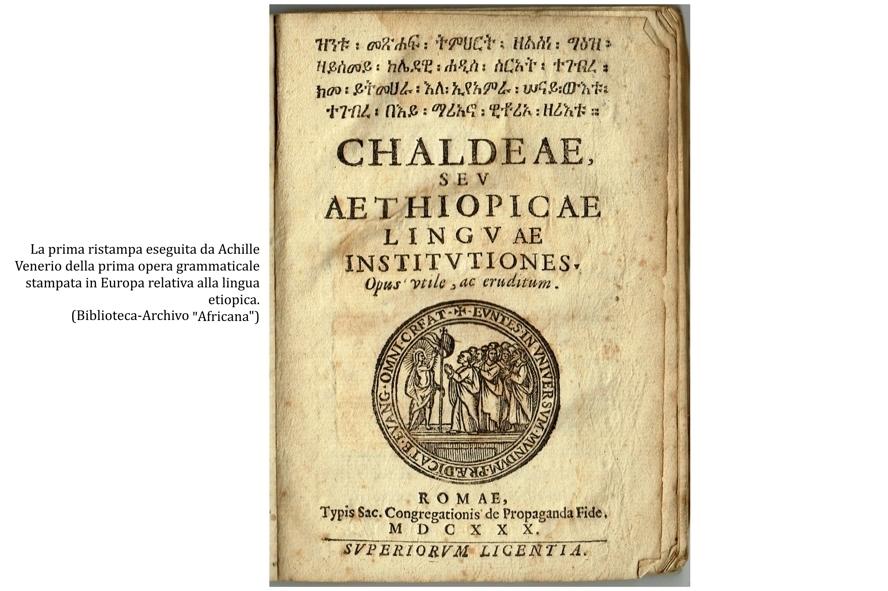 Ai margini dell'antica storia d'Etiopia. La singolare figura del letterato Guglielmo Postel.